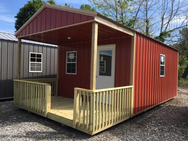 cabin_0013_Metal gable cabin